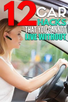 12 car organization hacks that will keep your car organized and free of clutter! Car Life Hacks, Car Hacks, Organization Hacks, Canning, Ideas, Home Canning, Thoughts, Conservation