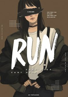 Bts / run / fanart by pepakomi K Pop, Bts Wallpapers, Fanart Bts, Bts Girl, K Wallpaper, Velvet Wallpaper, Pastel Wallpaper, Culture Pop, Image Manga