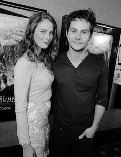 "Kaya Scodelario and Dylan O'Brien at the Twentieth Century Fox Fan Screening of ""The Maze Runner."""