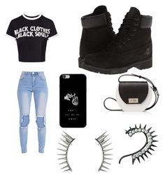 """Cool #ney"" by sarah14san on Polyvore featuring moda, Timberland, Joanna Maxham y Latelita"