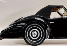 Ralph Lauren's 1937 Bugatti Type Gangloff Drop Head Coupe, photographed by Todd Eberle. **Related Story: **A Vroom of His Own Ralph Lauren, Dream Cars, Lamborghini, Ferrari, Convertible, Automobile, Hispano Suiza, Bugatti Veyron, Sport Cars