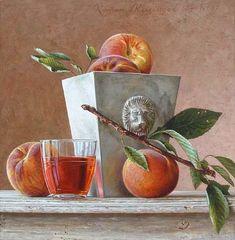 Roman Reisinger - Still life with peach