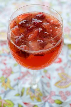 Strawberry Rose Sangria- DSC_3439 by House of Spain, via Flickr
