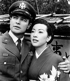 Marlon Brando and Miiko Taka/Sayonara/1957 directed by Joshua Logan [Warner Bros. Pictures]