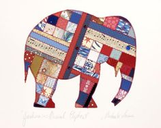 Lucky Elephant QP104 by Paper Quilt Creations: Pattern Ideas