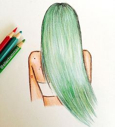 Kylie Jenner entdeckt von Ignacia Sepulveda auf We Heart It - Zeichnung Easy Disney Drawings, Art Drawings Sketches Simple, Girl Drawing Sketches, Cute Easy Drawings, Girly Drawings, Pencil Art Drawings, Cool Drawings Tumblr, Ballet Drawings, Drawing Drawing