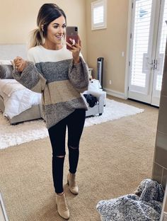 Love this outfit Casual Work Outfits, Mom Outfits, Casual Fall Outfits, Winter Fashion Outfits, Fall Winter Outfits, Everyday Outfits, Look Fashion, Autumn Fashion, Cute Outfits