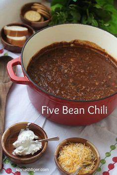 Five Bean Chili