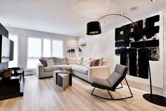 http://www.apartmenttherapy.com/how-one-designed-transformed-a-mish-moshy-home-for-herself-235420?utm_medium=email.  Decorator's White by BM