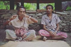 Boti people playing handmade music instrument.  More video via the LINK on my profile page