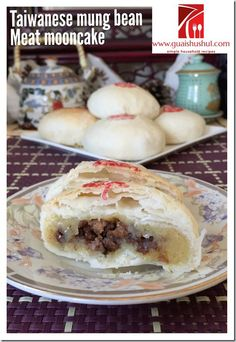 Asian Desserts, Asian Recipes, Chinese Recipes, Chinese Deserts, Chinese Food, Chinese Moon Cake, Mooncake Recipe, Cake Festival, Asian Cake