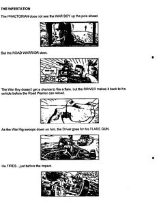 Post with 13 votes and 3725 views. Shared by Mad Max Fury Road - Original Script / Storyboard excerpts The Road Warriors, Mad Max Fury Road, Storyboard, Script, Concept Art, Comic, Album, The Originals, Conceptual Art