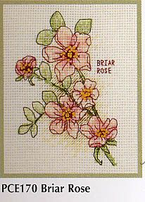"""Briar Rose """"daylight shone through the briar rose hedge, dappling the grass in gold and green."""""""