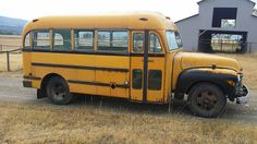 1952 Chevy School bus | Super clean Montana bus, 20 foot sho… | Flickr