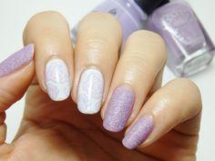 Nailpolis Museum of Nail Art | Lilac Roses by Rei  #nails #nailart #manicure