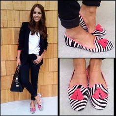 Ses Estrelles (Crea-Look,c.b.) ha fabricado para Pretty Loafers las adornos de los zapatos.