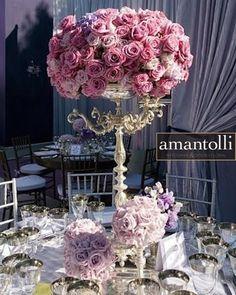 #Centrodemesa lila alto www.amantolli.mx