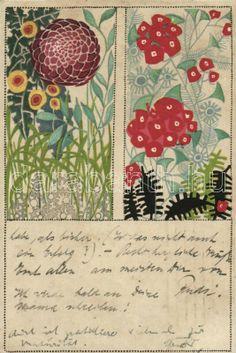 Stylised botanical illustration