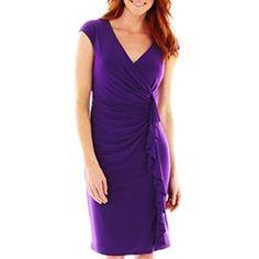 jcpenney.com   American Living Cascading Ruffle Dress