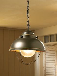 Fisherman's Pendant Light for kitchen....this is now on my wish list