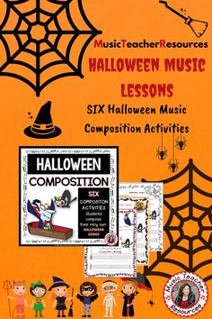Have your students create and perform their very own Halloween songs!  #musiceducation   #mtr Child Teaching, Teaching Music, Music Worksheets, Worksheets For Kids, Music Classroom, Classroom Resources, Dance Remix, Music Lessons For Kids, Halloween Songs
