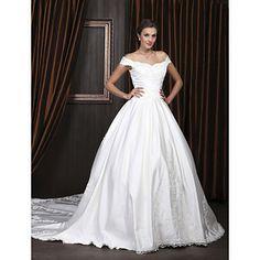 UTTARA - Vestido de Noiva em Cetim - BRL R$ 1.220,98