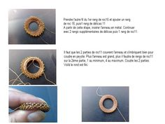 GISELEA RING free bead weaving pattern: donut pendant ring tutorial Source by Handmade Jewelry Tutorials, Free Beading Tutorials, Bead Jewellery, Pendant Jewelry, Beaded Jewelry Patterns, Seed Bead Necklace, Beaded Rings, Creations, Jewelry Making