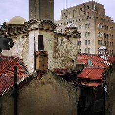 View from the rooftop of the Rand Club - colonial domes, Art Deco pomp & Victorian detailing.  #architecture #architexture #rooftop #rooftopview #randclub #myjoburg #johannesburg #artdeco #artdecoarchitecture #victorianarchitecture #colonialarchitecture