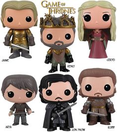 Funko Pop! Game of Thrones vinyl toys