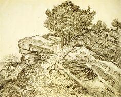 ART & ARTISTS: Vincent van Gogh drawings - part 4