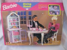 barbie dining room set | 1000+ images about Barbie Love on Pinterest | Barbie ...