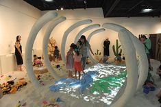 체험전시 <모래야 놀자> 여름방학맞이 특별 이벤트! : 네이버 블로그 Museum Exhibition Design, Exhibition Display, Design Museum, Bbc Earth, Indoor Playroom, Interactive Museum, Kids Cafe, Landscape Elements, Build A Playhouse
