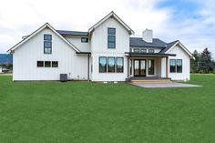 Looking for a modern farmhouse exterior? Check out this stunning country style home. It gives you farmhouse flair and cool curb appeal. Questions? Call 1-800-447-0027 today. #architect #architecture #buildingdesign #homedesign #residence #homesweethome #dreamhome #newhome #newhouse #foreverhome #interiors #archdaily #modern #farmhouse #house #lifestyle #designer Country Style House Plans, Country Style Homes, Modern Farmhouse Exterior, Country Farmhouse, Building Design, Floor Plans, House Design, How To Plan, Architecture