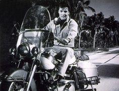 "Elvis in ""Clambake"", his 25th film, shot in 1967  - Harley Davidson/cq"