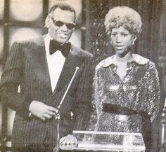 Ray Charles & Aretha Franklin (1975)