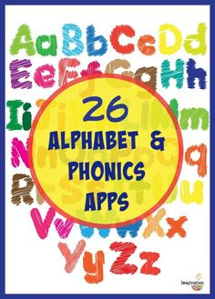 26 alphabet and phonics apps for kids (Android and Apple links)
