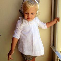 Blusa plumeti cuello volante - macali.es // claradeparis.com loves this vintage look