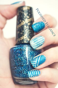 OPI - Get Your Number liquid sand nail polish nail art