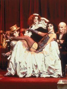 BROTHERTEDD.COM Rocky Horror Picture Show Costume, Rocky Horror Show, Columbia Rocky Horror, Tim Curry Rocky Horror, Winona Ryder, Clueless, Playlists, Pretty Woman, Horror Costume