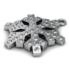 CHAR-66 Kryształ  Wymiary: 21,0 x 18,0 mm Waga ~ 1,78 g (1 szt.) Metal: srebro (AG-925) + Swarovski Elements Kolor: Kryształ  1 paczka  = 1 szt.