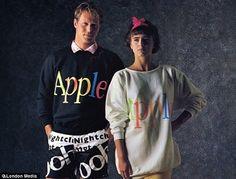 Apple's 1986 Clothing Line