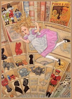 Alice's Illustrated Adventures In Wonderland: Chapter 1 ~ Down The Rabbit-Hole