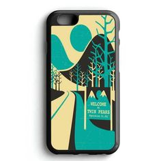 Twin Peak Sign Mountain Hill iPhone 7 Case