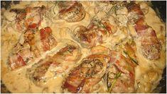 Schweinefilet in Curry-Sahne Die Soße ist der Hammer! – GesundeRezepte.eu Dinner Is Served, Garam Masala, Slow Cooker, Bacon, Pork, Food And Drink, Low Carb, Snacks, Cooking