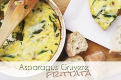 Meatless Monday: Asparagus Gruyere Frittata