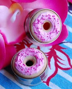 Ear Plugs Inspired by Donuts and Baked Goods