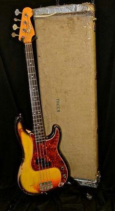 1966 Fender Precision Bass Sunburst