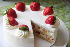 """<p>Japanese Strawberry Shortcake is a western-style layered cake with whipped cream and strawberries. It is the most popular kind of western cake in Japan for everyone. It is said the Strawberry Shortcake was """"invented"""" by a pastry shop in 1920s, but it became more popular in the 1950s. And since …</p>"""
