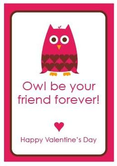 owl be your friend foreverrrrrr