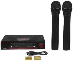 US-Deals Cars Rockville RWM1201VH VHF Wireless Dual HandHeld Microphone Mic System: $29.99 End Date: Thursday Mar-29-2018…%#USDeals%